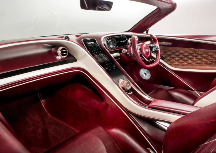 lurury bentley interior
